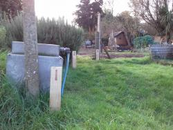 New Allotment Plot Posts