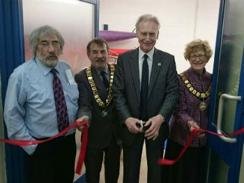 Opening of Locker Room at Admiral Swimming Centre