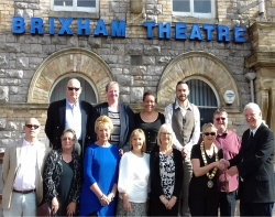 Brixham Theatre CIO Off and Running After Key Hand Over