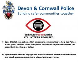 Devon & Cornwall Police Community Speed Watch