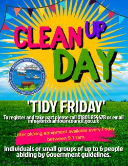 Keep Brixham Beautiful - Tidy Friday