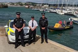 Tor Bay Harbour Authority partnering with Devon & Cornwall Police this summer