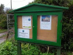 Allotment Notice Boards are complete!