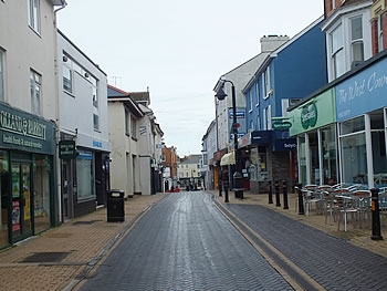 Brixham town centre