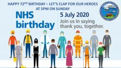 Happy Birthday The NHS