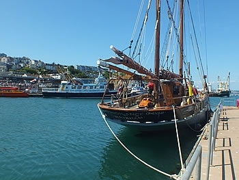 Heritage Boats at Brixham Harbour