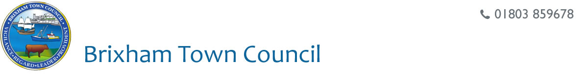 Brixham Town Council, Tel: 01803 859678
