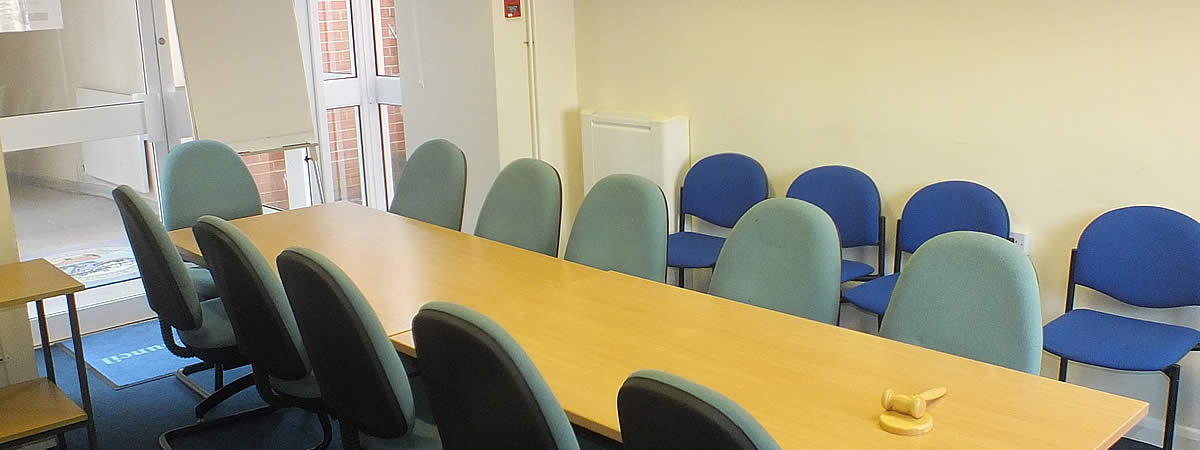 Furzeham Room available for hire at Brixham Town  Hall