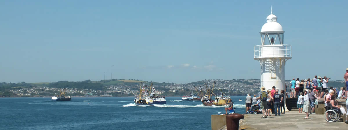 Brixham Trawler Race is a popular annual event and attracts many tourists in the summer